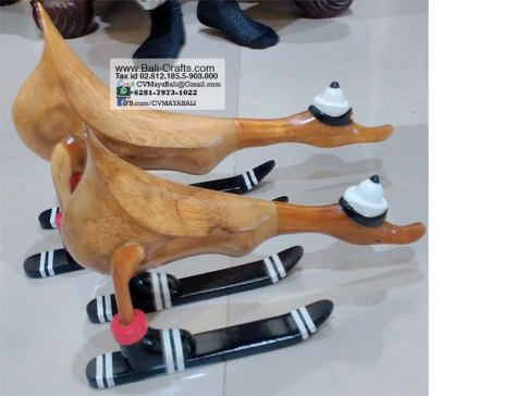 bamboo-root-wood-ducks-skiing-2