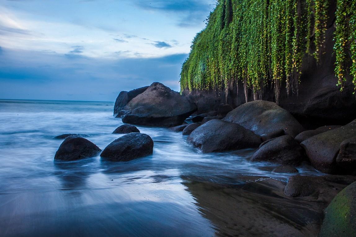 Bali-Balian-Beach-Langzeitbelichtung