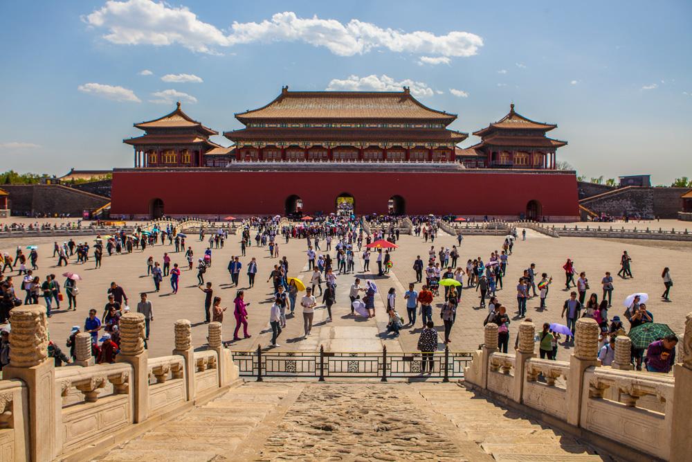 Peking und die Verbotene Stadt