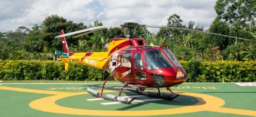 luxury, helicopter, tour, bali