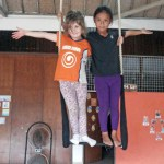 Annie and Donna Trapeze duo