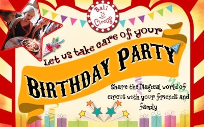 Kids Birthday Party with Bali Circus