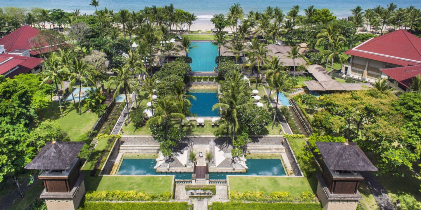 Most popular hotels of Bali