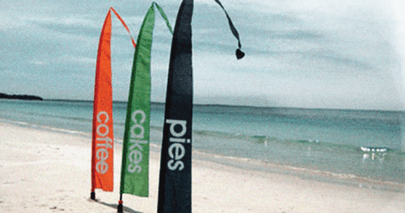 Promotional Bali Flags