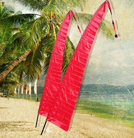 4M BALI FLAG - RED