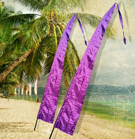 BALI FLAG 4M - PURPLE