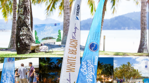 5m Custom Bali Flags for Property Council Event