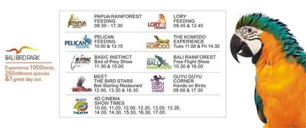 Bali Bird Park Event