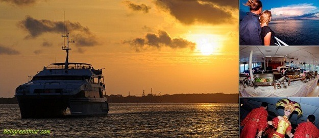 Bali Sunset Dinner Cruise, Bali Dinner Cruise, Bali Hai Sunset Dinner and Bali Bounty Sunset Dinner Cruise