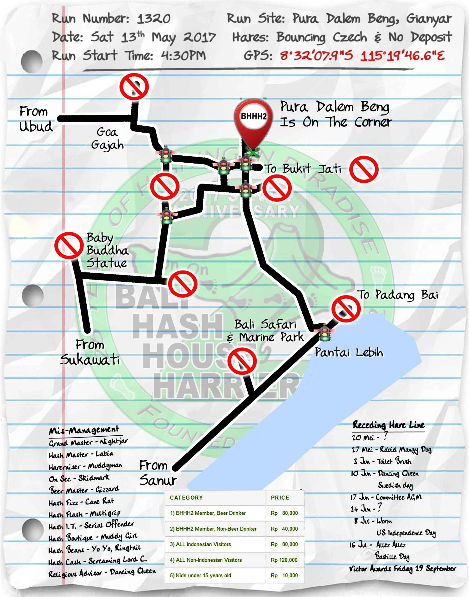 Next Run Map #1320 Pura Dalem Beng Sat 13-May-2017