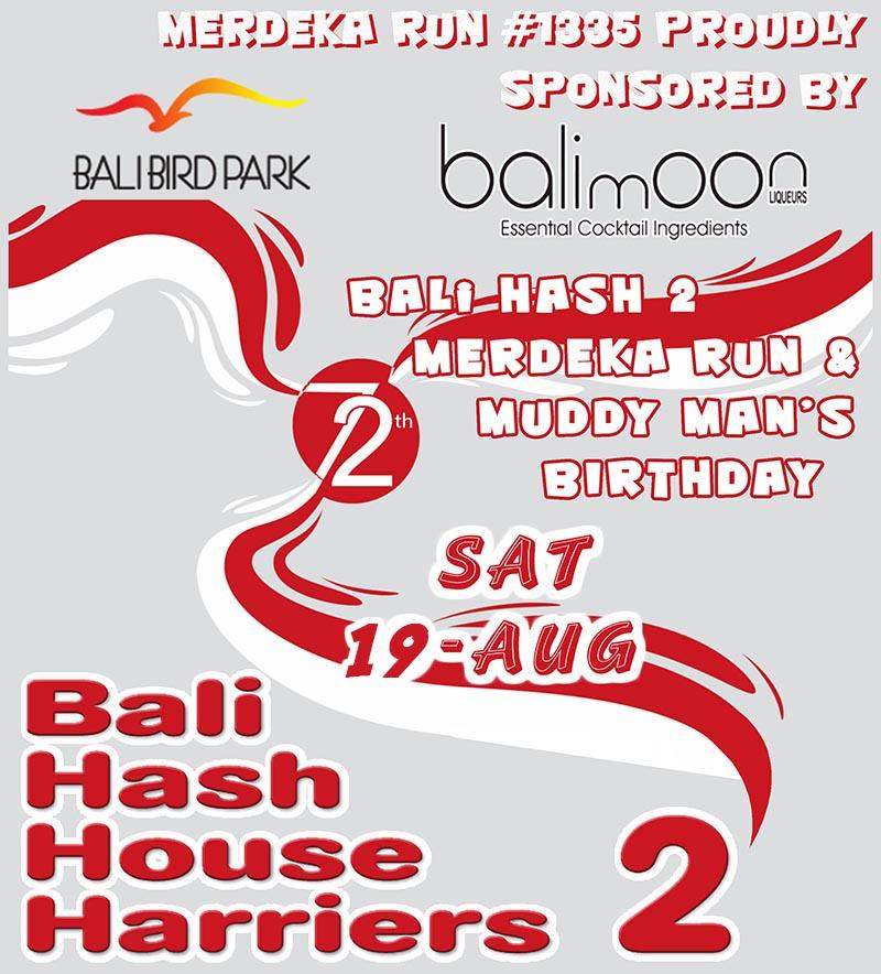 BHHH2 Run 1335 Merdeka Run 2017 Bali Bird Park Update.j