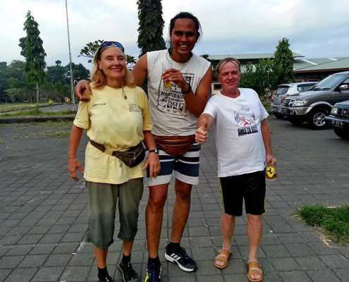 Bali Hash House Harriers 2 Run #1376 at Jukut Paku Market, Singakerta, Ubud