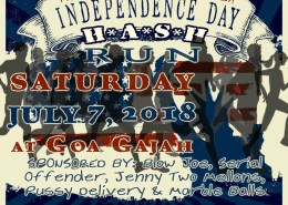Bali Hash House Harriers 2 US Independence Day Run