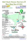 Bali Hash House Harriers 2 Next Run Map Pura Dalem Bongkasa
