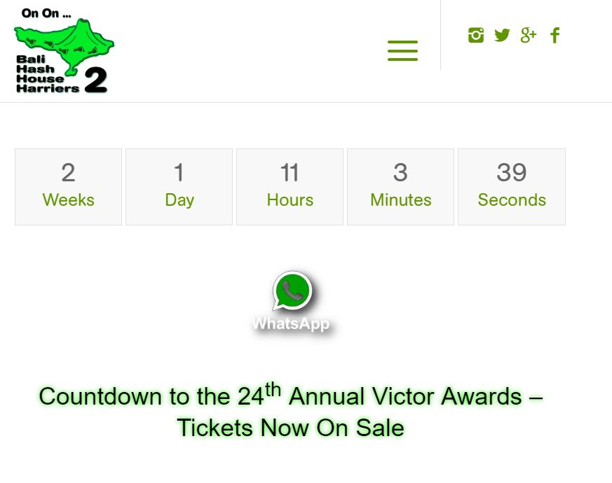 Countdown to the 2018 Victor Awards