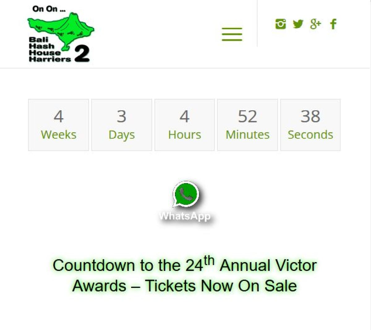 Countdown to the 24th Annual Victor Awards