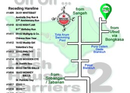 Bali Hash 2 Next Run Map #1408 Desa Punggul 19-Jan-19