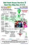 Bali Hash 2 Next Run Map #1412 Pura Dalem Pejeng