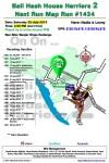 Bali Hash 2 Next Run Map #1434 Banjar Dinas Kedungu