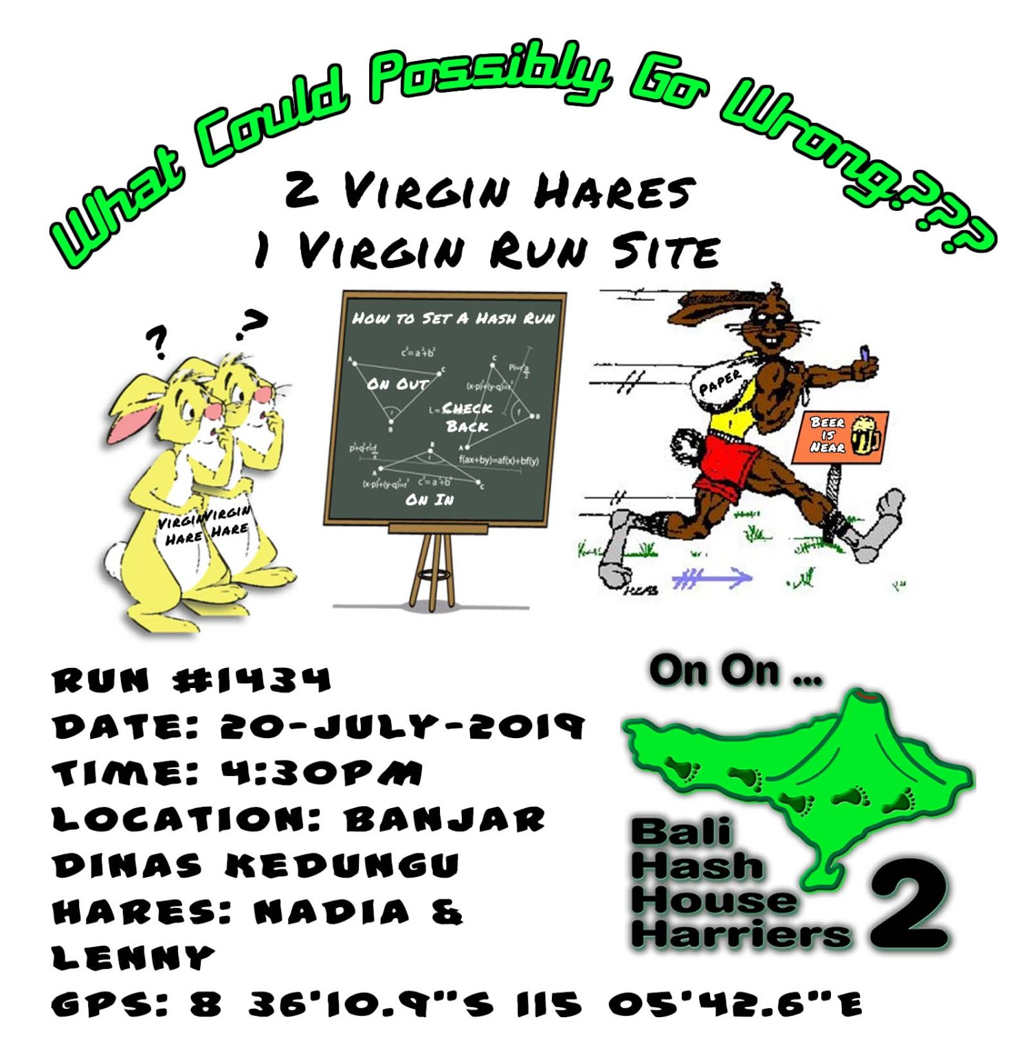 Virgin Hare Virgin Runsite Bali Hash House Harriers 2