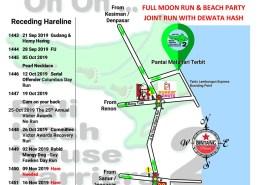Bali Hash 2 UPDATE Next Run Map #1442 Tanis Lembongan