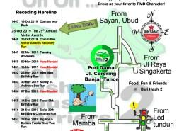 Bali Hash 2 Next Run Map #1446 Puri Damai Br Demayu