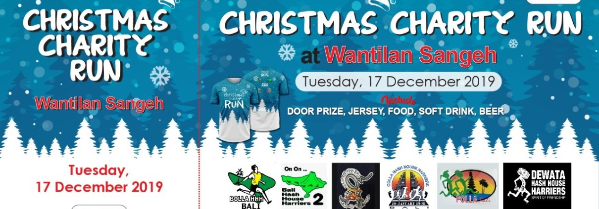 Christman Charity Run Bali Hash 2