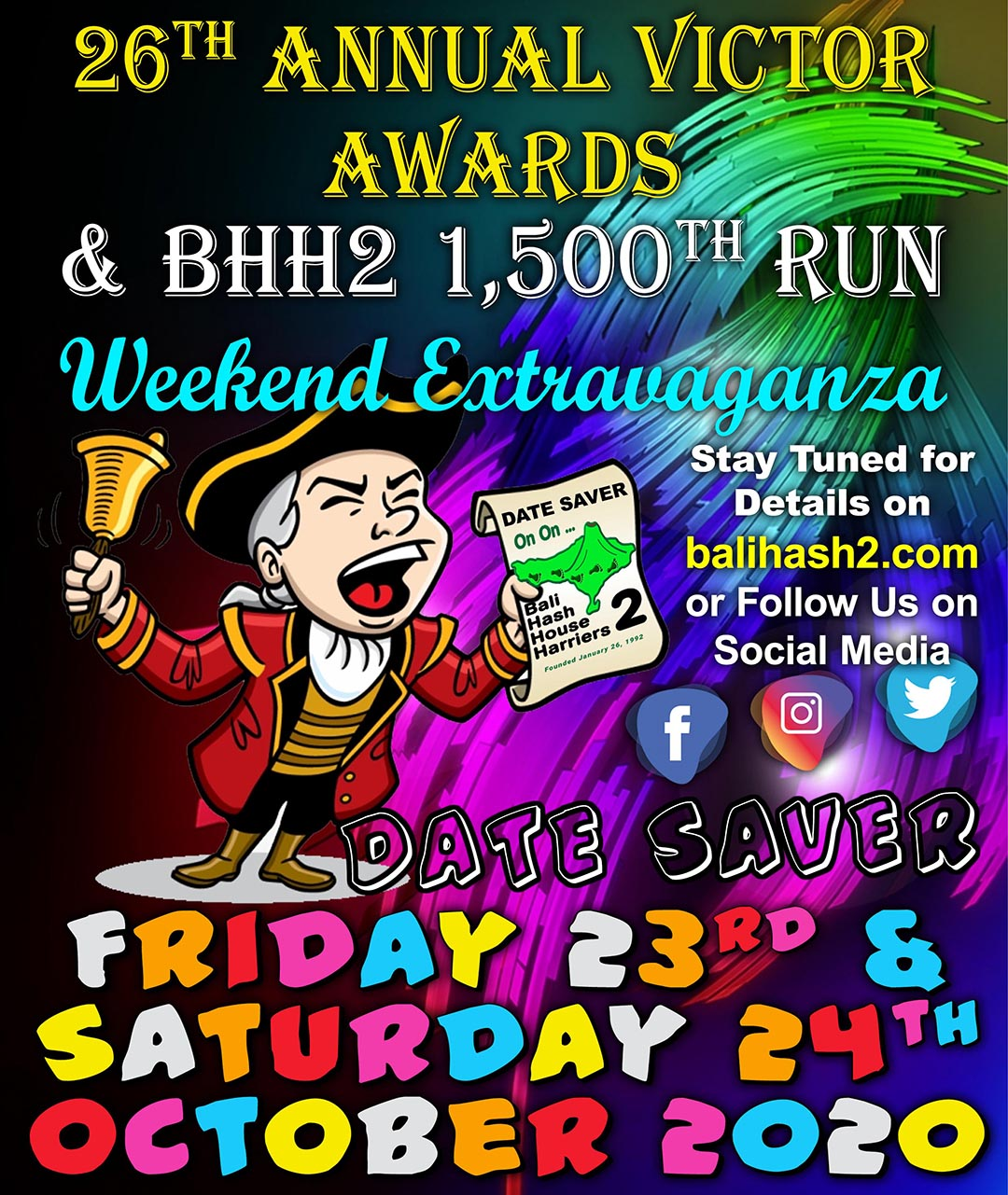 DATE SAVER 2020 Victor Awards 1500th Run Extravaganza