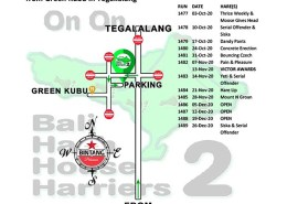 Bali Hash 2 Next Run Map #1476 Green Kubu
