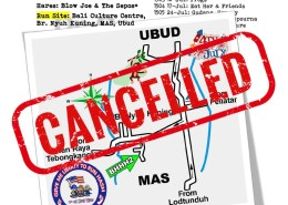 Bali Hash 2 Next Run Map #1502 CANCELLED 03-July-21