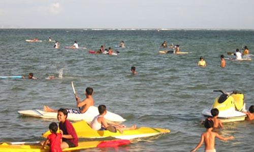 aktifitas pantai sanur