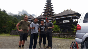 Mt agung Hiking tour with bali jungle trekking company