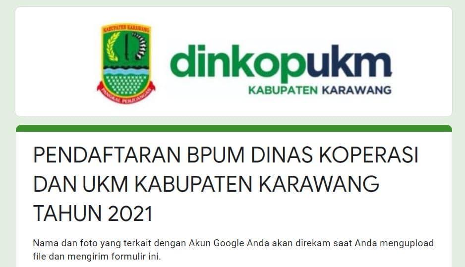 https://tinyurl.com/pendaftaranbpumkrw, Daftar BPUM Tahap 3 Kab. Karawang April 2021