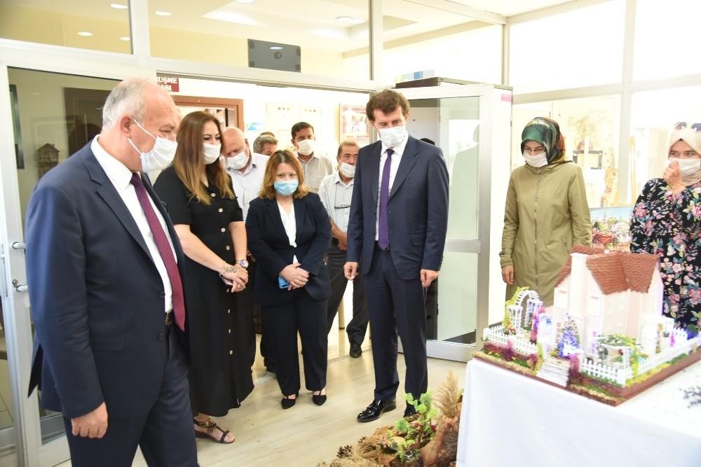 Dursunbey BALMEK Sanal Sergisi Açıldı