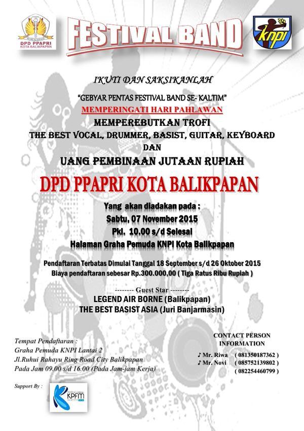 Gebyar Pentas Festival Band Se-Kaltim