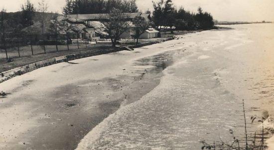 foto sejarah pantai benua patra balikpapan tahun 1955