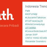 error path trending topik