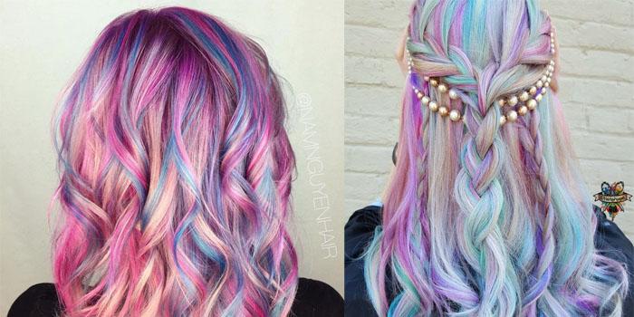 rambut unicorn