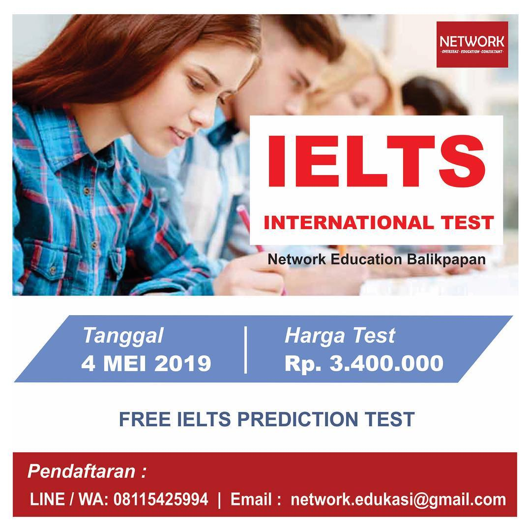 event balikpapan IELTS Official Test