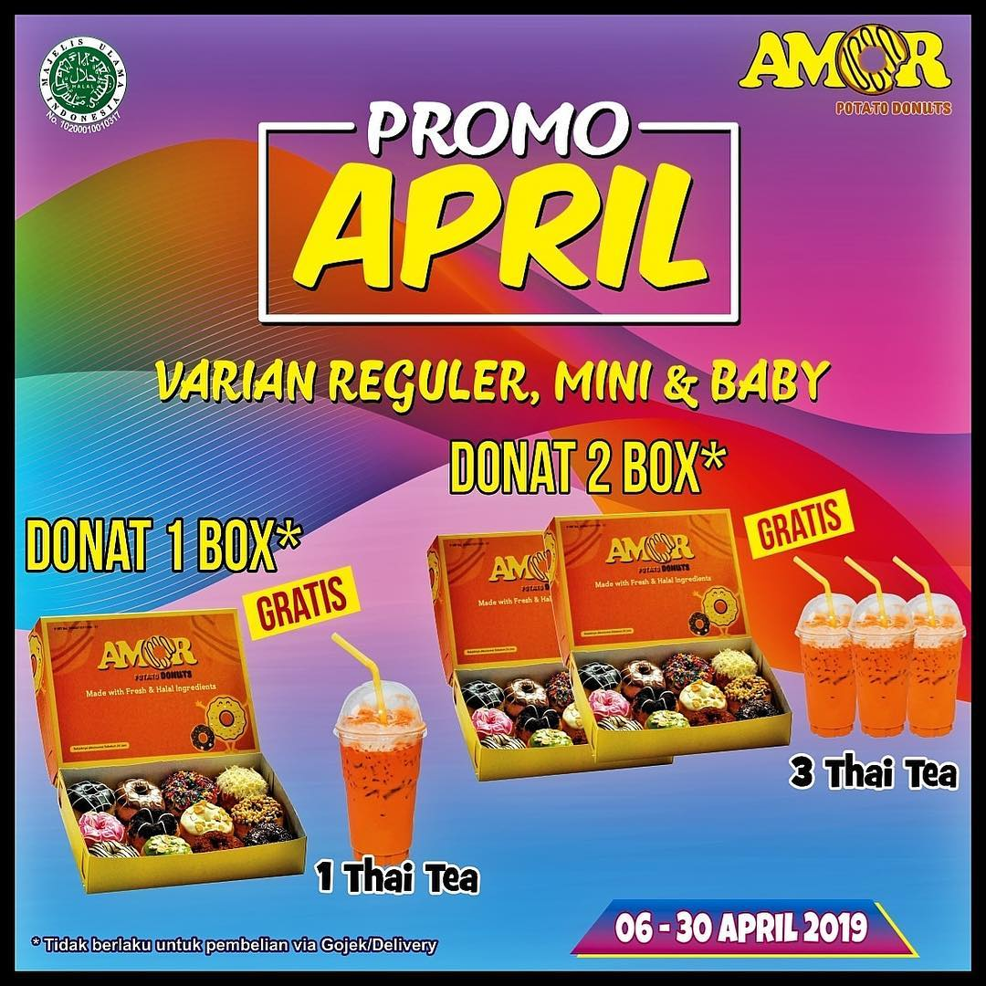 Promo Amor Donuts Balikpapan
