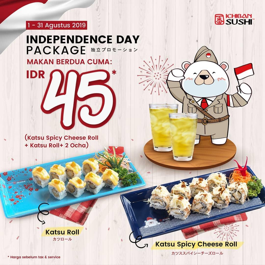 Promo Kemerdekan Ichiban Sushi