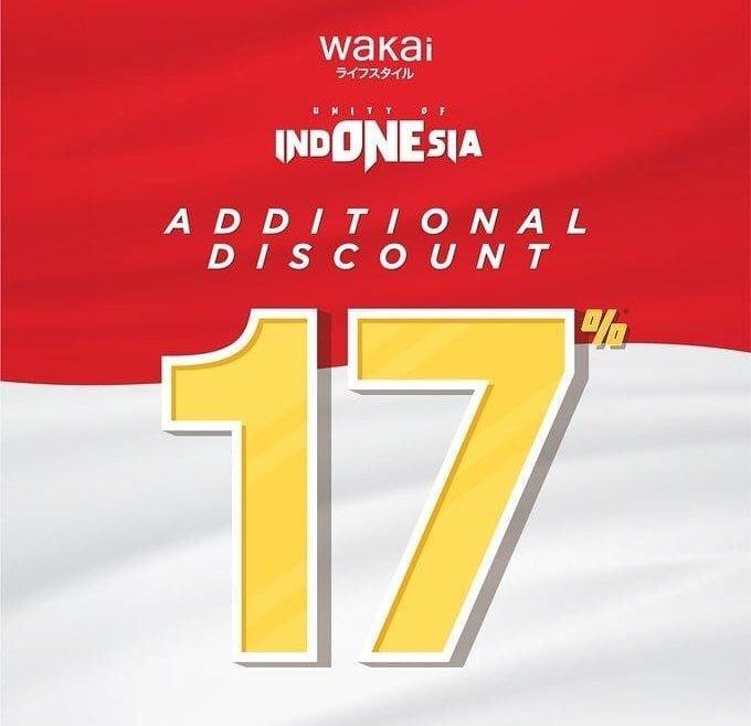 Promo Kemerdekan Sepatu Wakai