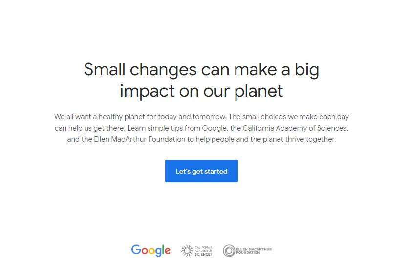 Sustainability Google
