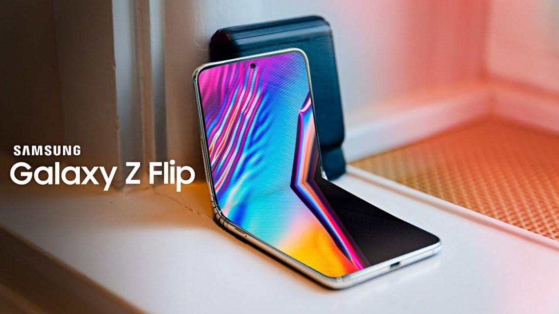 HP Samsung terbaru 2020 galaxy Z Flip