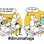 Komik Lucu Tentang Corona