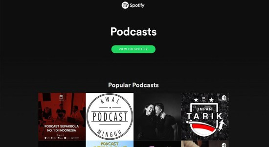 podcast spotify indonesia