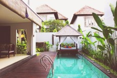Private Swimming pool area