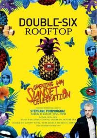 Double Six Rooftop Opening party