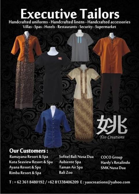 Executive Tailor Bali