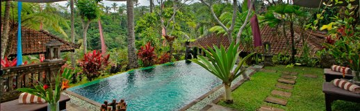 Mahogany Private Villa, Ubud, Bali (2 Bedroom Villa) USD 250 / night